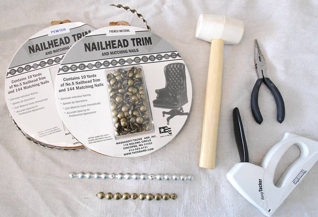 Nailhead Trim Upholstered Headboards Make Your Own