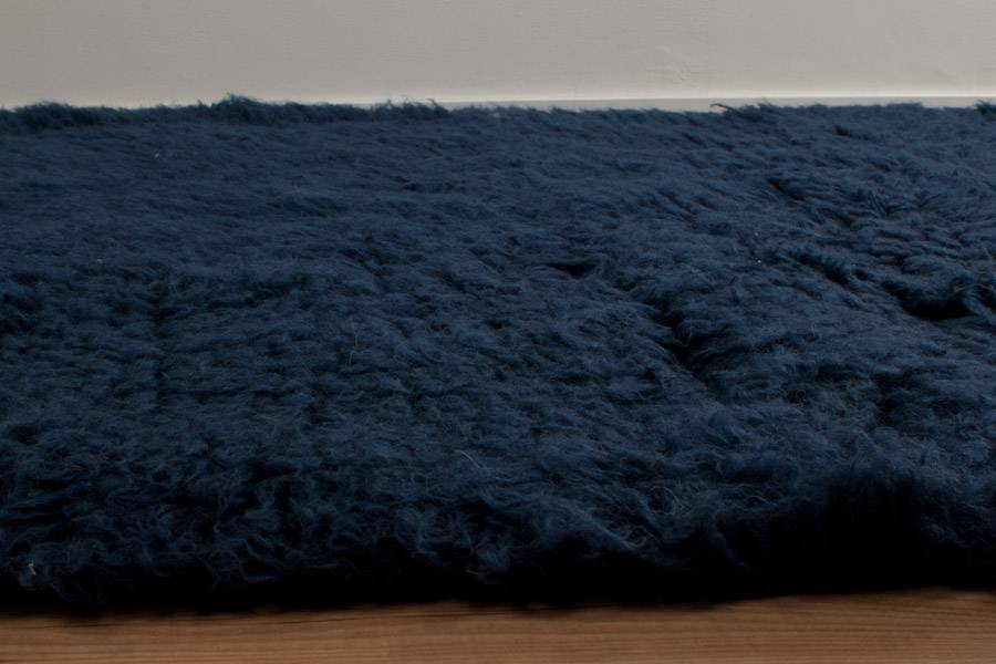 Navy Blue Flokati Rugs