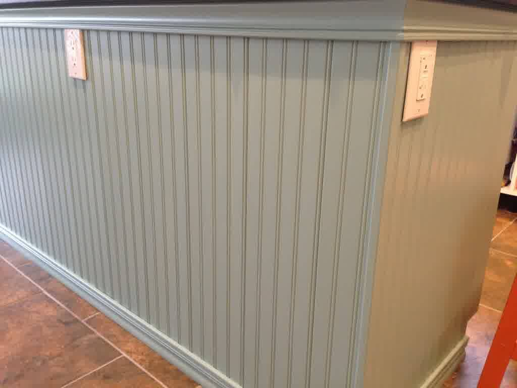 New Mdf Beadboard Wainscoting Install