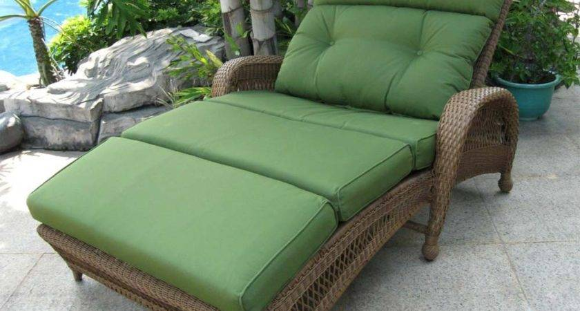 Outdoor Double Chaise Lounge Design Homy