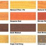 Pine Wood Stain Color Chart Plansdownload