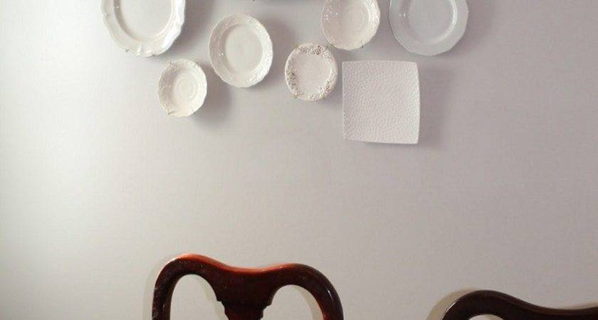 Plate Wall Decoration Dining Room Ideas