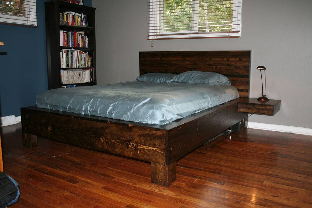Queen Platform Bed Frame Plans Bath
