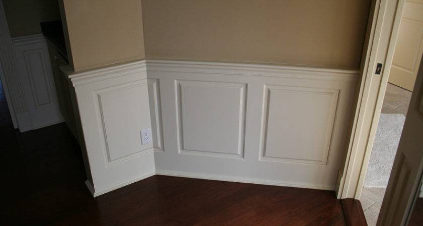 Raised Panel Wainscoting Panels Integrated Our Beautiful Window