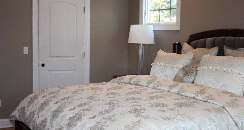 Real Homes Taupe Bedroom Benjamin Moore Indian River