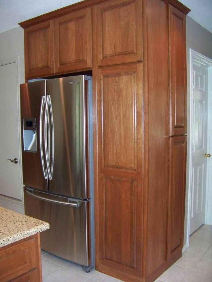 Refrigerator Awesome Cabinet Counter Depth