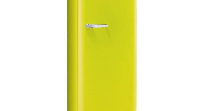 Retro Style Fridge Lime Green Fab Rve Smeg