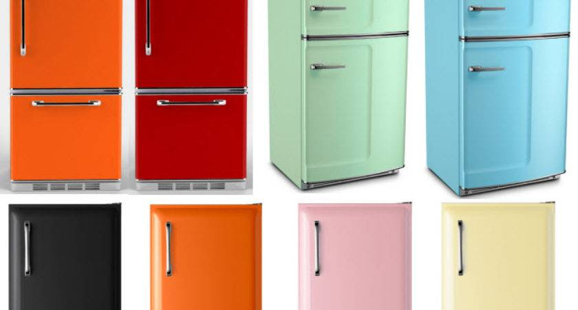 Retro Style Refrigerators Big Chill