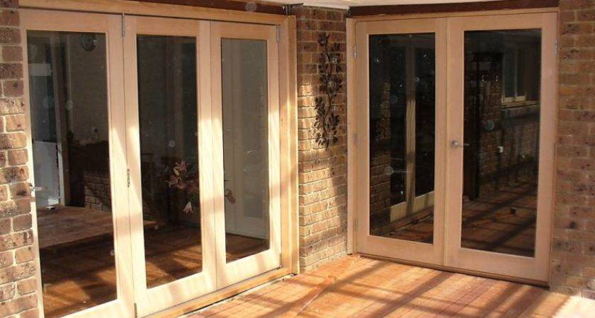 Right Bifold French Door