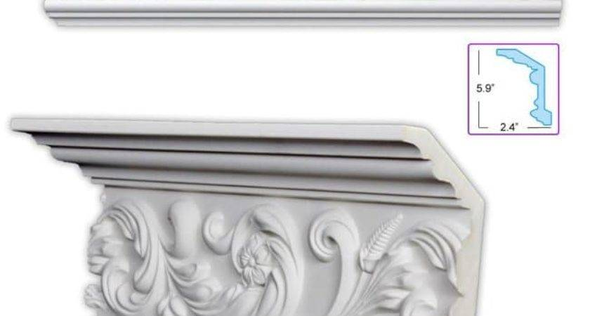 Scrolling Leaf Inch Crown Molding Pack