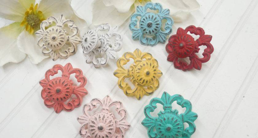 Shabby Chic Knob Colors Cabinet Knobs Theshabbystore