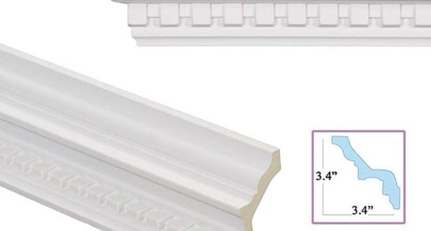 Shop Dentil Inch Crown Molding Shipping Today