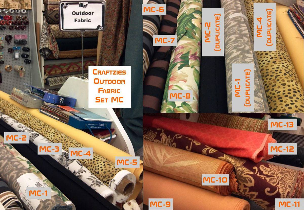 Shops Outdoor Fabrics Available Both These