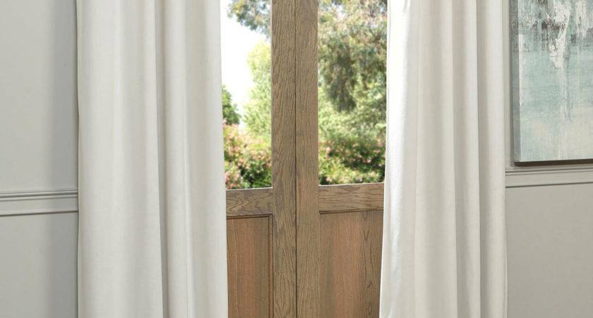 Signature Grommet Off White Inch Blackout Curtain