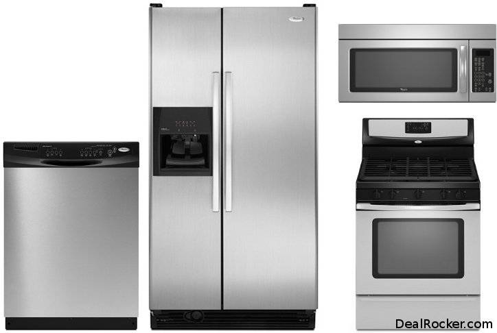 Stainless Steel Appliance Package Kitchen Appliances
