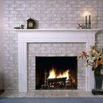 Stand Process Best Paint Brick Fireplace