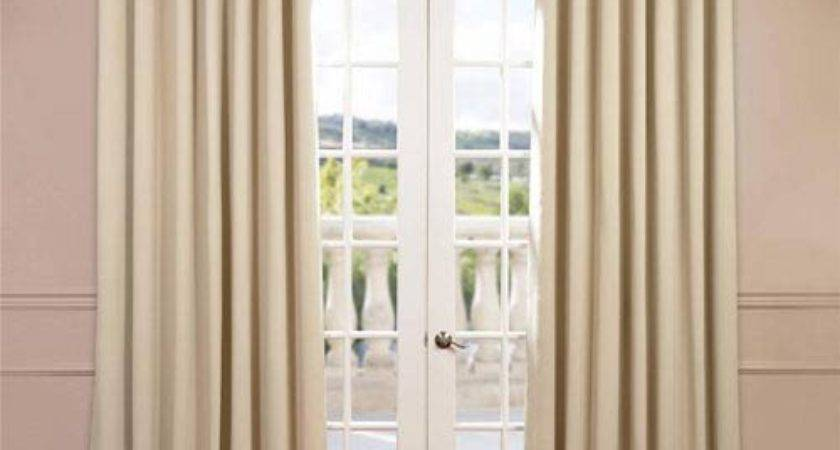 Stone Inch Double Wide Blackout Curtain Single