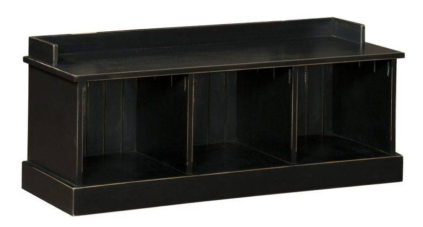 Storage Bench Seat Wooden Entryway Benches Black New Ebay