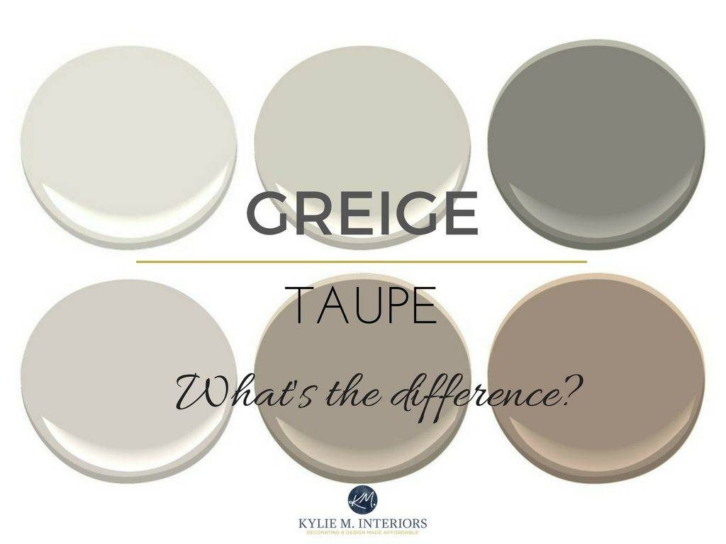 Taupe Greige Big Difference