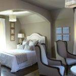 Taupe Paint Transitional Bedroom Benjamin Moore