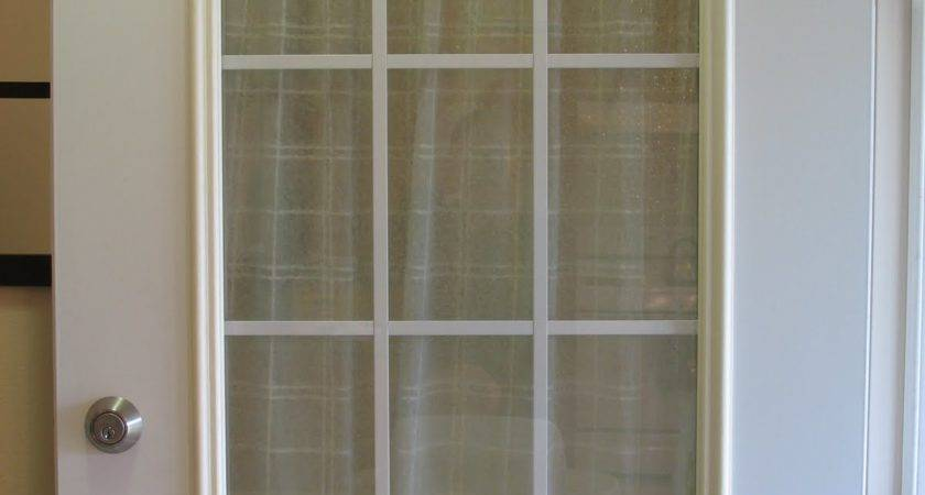 Thrifty House Spray Painted Door Trim