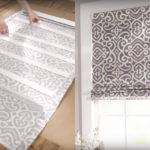 Turn Mini Blinds Into Pretty Roman Shades Home