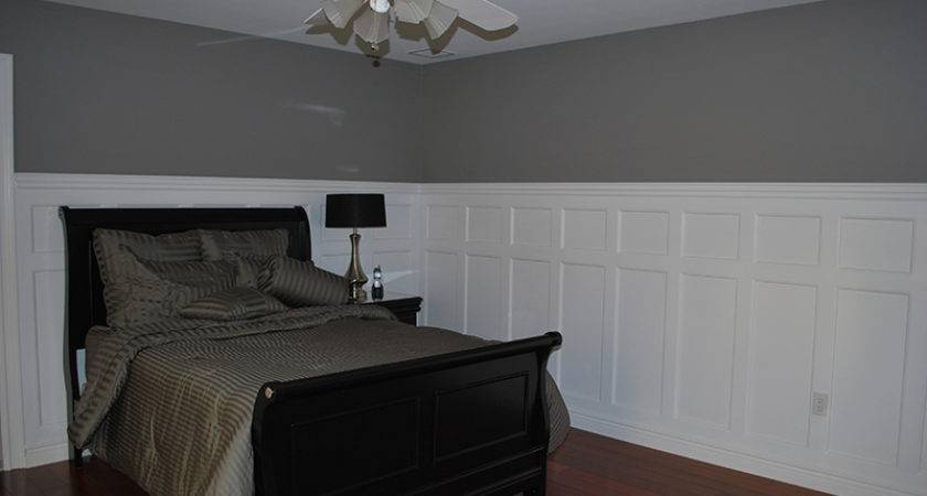 Wainscoting Panel Beaded Recessed Bedroom Wolcott Connecticut