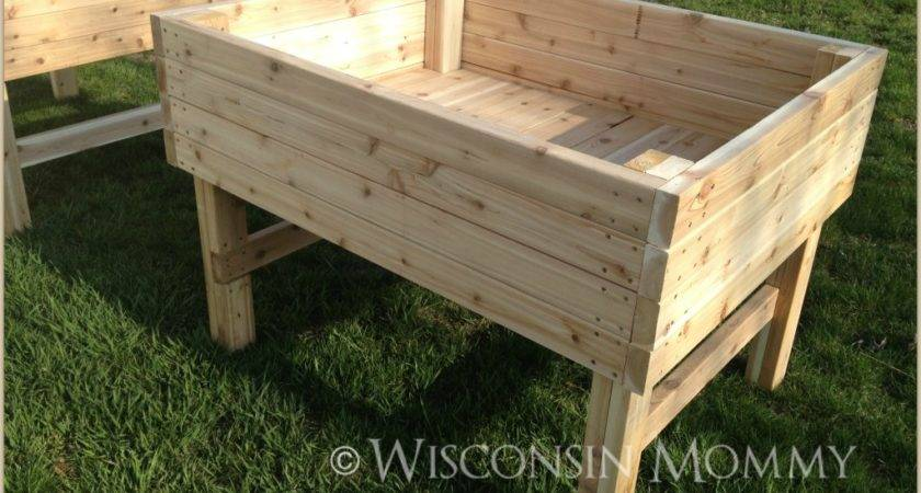 Want Know Build These Elevated Garden Beds