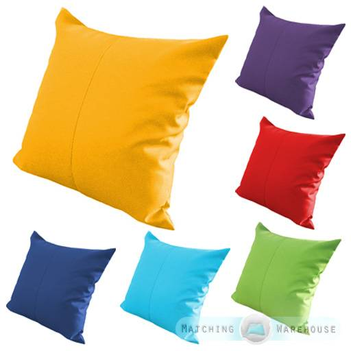Water Resistant Garden Cushion Furniture Cane Filled
