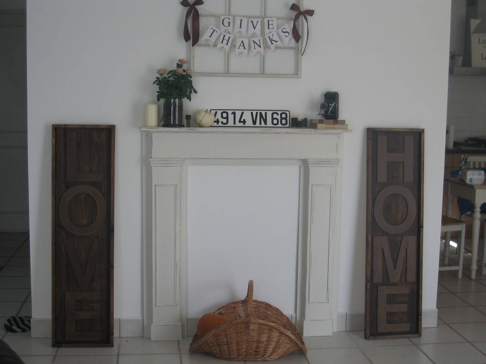 Way Live Now Faux Diy Fireplace