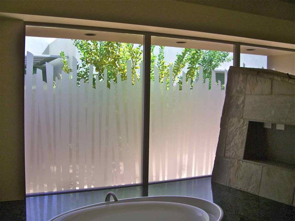 Window Privacy Glass Sans Soucie Art