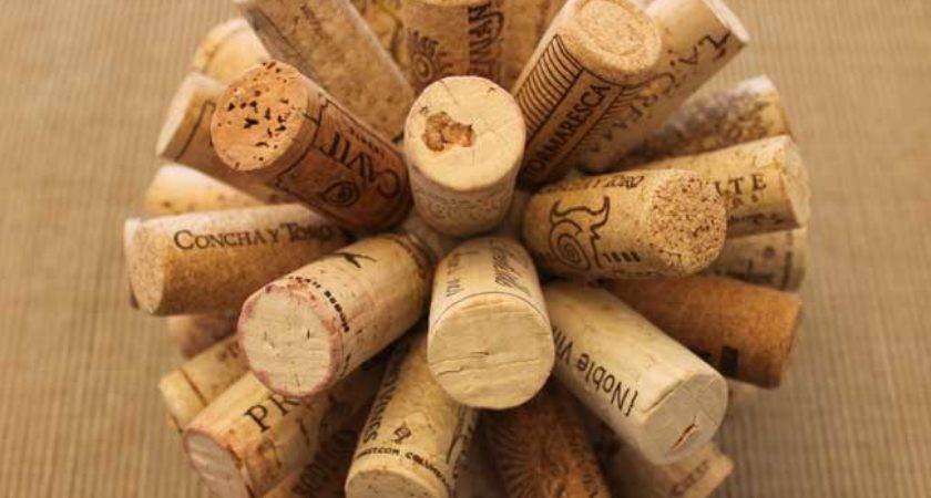 Wine Cork Ball Sometimes Homemade