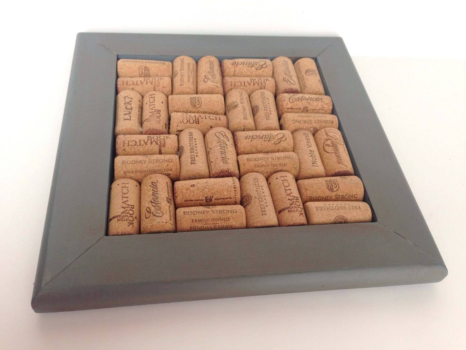 Wine Cork Trivet Pot Holder Wonderfulathome