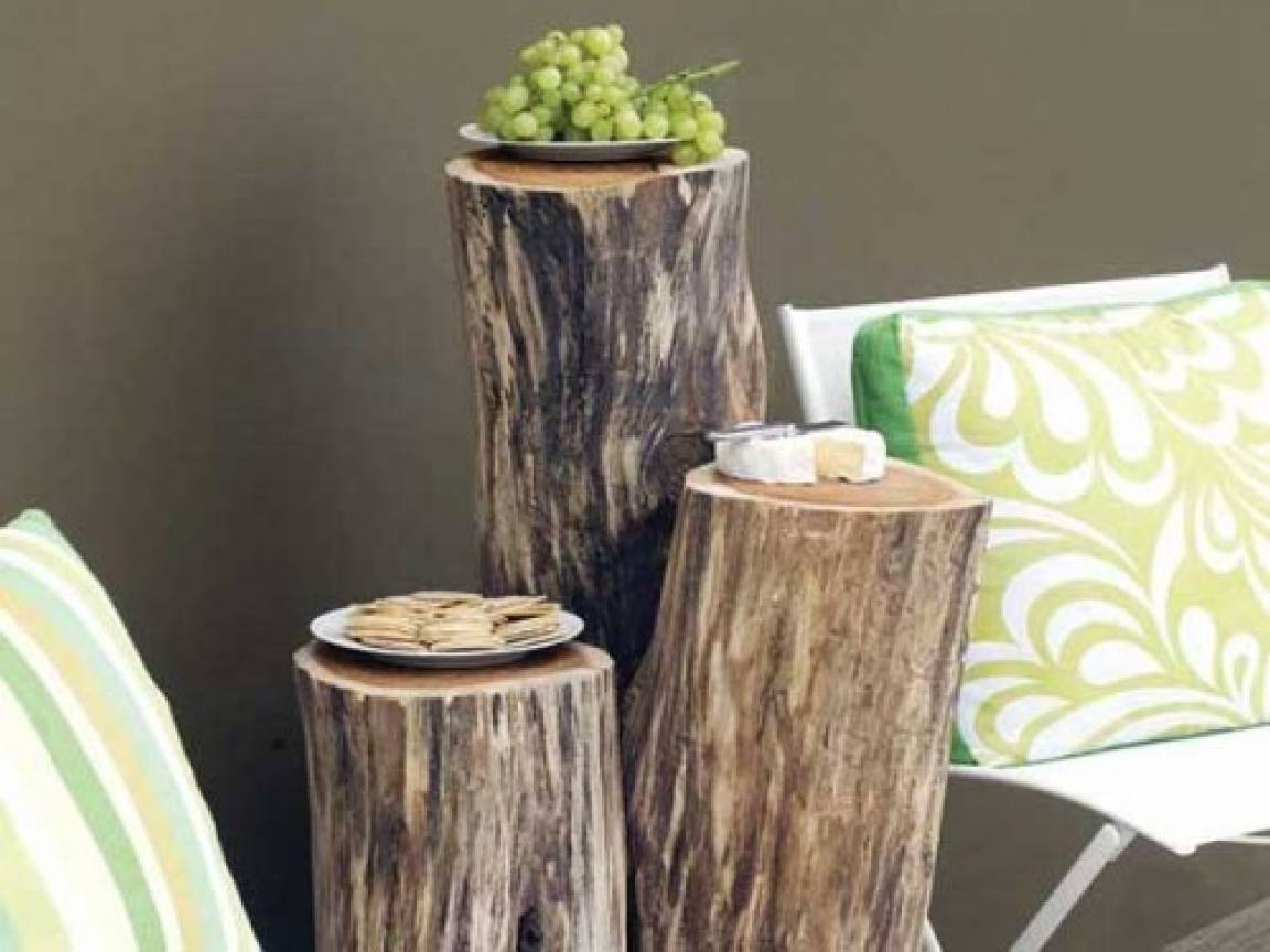 Wooden Cocktail Tables Diy Outdoor Wood Ideas