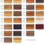 Zar Wood Stain Color Chart Car Release Date